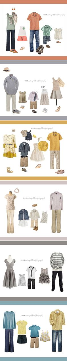 What to wear for a family photo