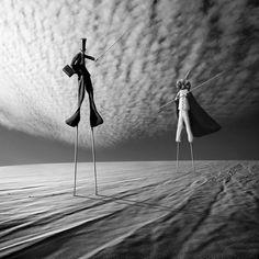 Manipulations de Photos Surréalistes par Dariusz Klimczak (4)