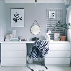 Godmorgon Hittade denna snygga o enkla lösning igår via @workspacegoals  Credit: @olivianicolesilk  Wish you a lovely day __________________________________________________ #homeoffice #inspo #inspohome #interior #skandinaviskehjem #interiordesign #interior4all #interior123 #interiorstyling #picoftheday #style #detaila #daily #inspoforjosefine #amelieinspo #nyahemmet #lifestylebyl #instagood #styling #roomforinspo #like4like #smile #loveit