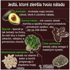 Zdravé jedlá na zlepšenie nálady..