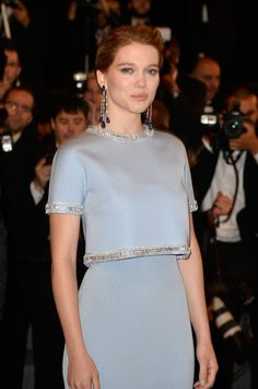"Léa Seydoux attends the Premiere of ""The Lobster"" during the 68th annual Cannes Film Festival on May 15, 2015 in Cannes, France."