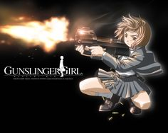 Gunslinger Girl Episodes] On the surface, the Social Welfare Agency appears to help orphaned schoolgirls, but it's actually turning them into lethal agents. Brainwashed and teamed with veteran assassins, you'd never suspect they're on a mission to kill. Cartoon Shows, Anime Shows, Gunslinger Girl, Warrior Girl, Cool Animations, Girl Wallpaper, Awesome Anime, Anime Comics, Manga To Read