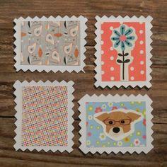 Zelf papieren postzegels maken (via Bloglovin.com )
