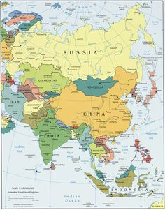 map of asia good for moh vol 2 week 10 east asia map