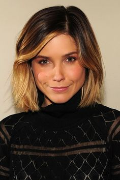 Sophia Bush & ombre dip-dye hair