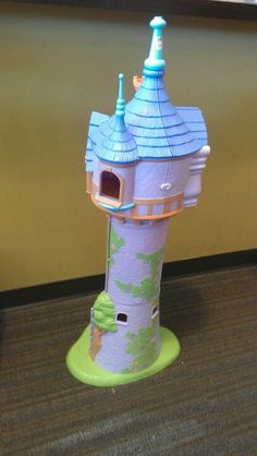 Disneys Tangled/Rapunzel Tower, no accessories $24.99