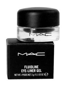 MAC Eye-Liner Gel, Love this, Hard to put on at first but after you master it you've got it made because it lasts all day and night until you take it off. Love this!