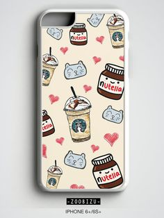 Tumblr iPhone 7 Case Nutella iPhone 4s 5 SE 5s 5c 6s 6 7 plus cover case Starbucks Samsung Galaxy S4 S5 S6 S7 Edge Note 3 4 5 Daughter Gift by zoobizu from zoobizu. Find it now at https://www.etsy.com/listing/259511602/tumblr-iphone-7-case-nutella-iphone-4s-5?ref=rss!