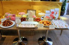 Baby Shower Bakery Table