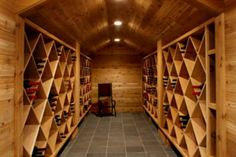 Professional quality wine cellar
