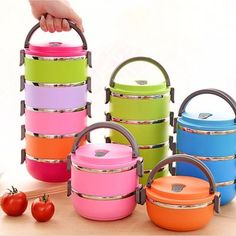 Bowl Style Lunch Box //Price: $14.98 & FREE Shipping // #leg #jogging Bowl Style Lunch Box Dinnerware Inspiration, Cheap Lunch Boxes, Student Lunches, Thermal Lunch Box, Stainless Steel Lunch Box, Bodybuilding, Boite A Lunch, Shipping Boxes, Free Shipping