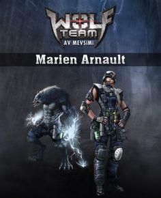 YENİ! Marien Arnault Özel Versiyon Karakteri ve Özel Versiyon Kurt'u! WOLFTEAM domodmo
