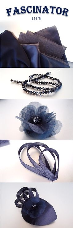 DIY Wedding hat / Fascinator! Very easy to make on your own!