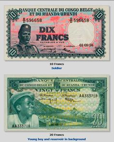 . Social Security, Personalized Items, Cards, Coins, Scenery, Belgian Congo, Central Bank, Maps, Playing Cards