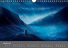 Zwielicht - Fantasylandschaften Wandkalender 2020 DIN A4 quer: Amazon.de: Simone Wunderlich: Bücher Digital Art, Waves, Outdoor, Wall Calendars, Ocean Waves, The Great Outdoors, Wave, Beach Waves, Outdoors