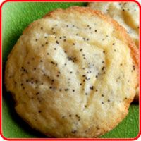 Poppy Seed Cookies  The recipe should make about 34-38 cookies