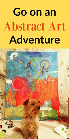 Go on an Abstract Art Adventure Bring out the creativity in your child with an abstract art painting station.