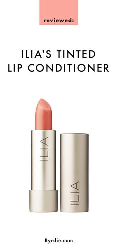 Reviewed: Ilia's Tinted Lip Conditioner Nobody's Baby—a universally flattering nude.