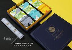 Footer Socks Gift Box by Zack Fu » Retail Design Blog