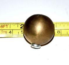 bronze round knob handle cabinet pull globe spherical sphere #Unbranded