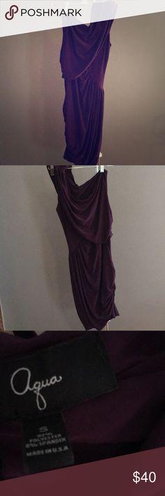 One shoulder dress Very flattering one shoulder Aqua dress.  Great for multiple occasions. Aqua Dresses One Shoulder