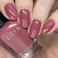 Zoya Element Fall 2018 Collection - Nail Polish Society: Zoya Element Fall 2018 Collection The Effective Pictures We Offer You About Ma - Oval Nails, Toe Nails, Gradient Nails, French Nails, Nail Art Designs, Natural Looking Nails, Gel Nail Colors, Nagel Gel, Gel Nail Polish