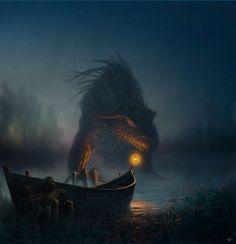 Cyril Barreaux #Dragon #ArtofAnimation