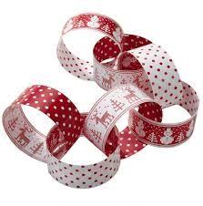 Talking Tables Knitted Noel Paper Chain Ring - Set of 100 Woodland Christmas, Scandinavian Christmas, 1st Christmas, Homemade Christmas, All Things Christmas, White Christmas, Christmas Crafts, Christmas Decorations, Danish Christmas