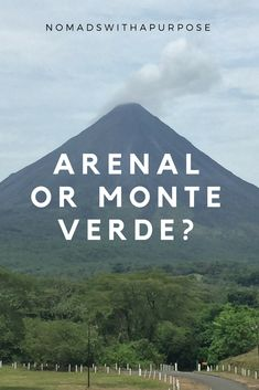Best National Park in Costa Rica.  The question that every traveler to Costa Rica asks themselves.  Hmmm, Arenal of Monte Verde?  Find the answer by reading our blog.