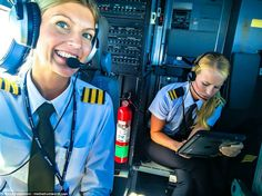 Maria Pettersson, pilot for Ryanair