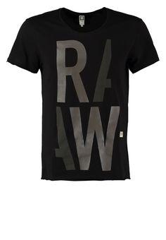 G-Star PERSACKER - Camiseta print - black - Zalando.es dd0683396da
