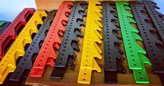 Ninja Sports Manufacturing par Custom Design Crafts LLC est la maison de The Salmon Ladder SMS! L'échelle de saumon SMS un type d'équipement de remise en forme spécifiquement fait pour la formation d'obstacles guerrier ninja que l'échelle de saumon est un aliment de base dans n'importe quel Crossfit, Obstacles, Ninja Warrior, Sports, Design, Salmon, Text Posts, Hs Sports, Sport