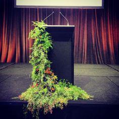 Image result for tropical arrangement podium
