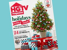 The #holidays are here inside the December issue of #hgtvmagazine http://blog.hgtv.com/design/2014/11/14/the-holidays-are-here-inside-the-december-issue-of-hgtv-magazine/?soc=pinterest