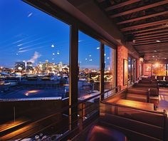 America's Coolest Rooftop Bars: Linger, Denver Don't let the factory-grade Linger Mortuaries sign in the sky fool you—this LoHi bar is the city's liveliest rooftop. It embodies a freewheeling Colorado spirit with boho touches: there's the 1975 hippiefied RV that turns out global street food; an eclectic selection of small plates (sesame BBQ tacos, falafel lettuce wraps) available in vegan, gluten-free, and nut-free options; and a happy hour with 1990s-era prices ($5 craft cocktails, $1…