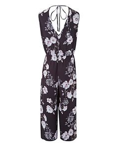 Printed Jumpsuit | Fifty Plus