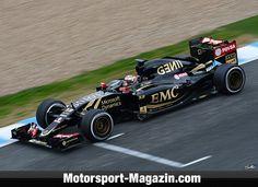 Formel 1 2015, Testfahrten, Jerez, Jerez de la Frontera, Pastor Maldonado, Lotus E23, Bild: Sutton