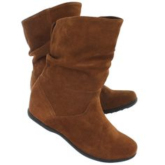 Cougar Women's FIFI whiskey suede waterproof wedge boots fifi-s whsy