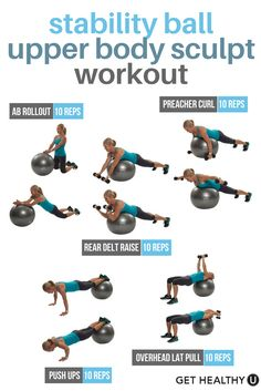 If you like this quick upper body & ab workout try this