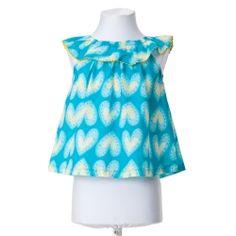 Agatha Ruiz de la Prada Hearts Blue T-shirt