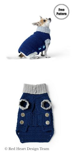 Dog Coat Free Crochet Pattern Dog Coat Free Crochet Pattern,Stuff For Pets Cowl Neck Dog Coat Free Crochet Pattern Related posts:Dog Clothes Patterns For Dachshunds Pet Accessories - Crochet PatternDandy. Crochet Dog Sweater Free Pattern, Dog Coat Pattern, Crochet Dog Patterns, Knit Dog Sweater, Crochet Coat, Loom Crochet, Free Crochet, Crotchet, Crochet Dog Clothes