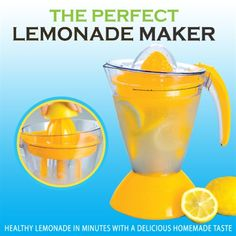 Kitchen Items, Kitchen Gadgets, Electric Lemonade, Healthy Lemonade, Cocktails, Drinks, Beverages, Shopping Coupons, Gadgets And Gizmos