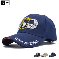 5b6b05f777f5a  NORTHWOOD  High Quality 101st Airborne Division Baseball Cap Men US Army  Cap Dad Caps