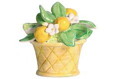 Lemon Basket Figurine on OneKingsLane.com