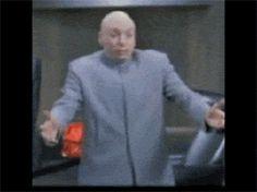 Dr Evil One Billion Dollars Gif