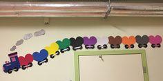 Eva tren renk grafiği