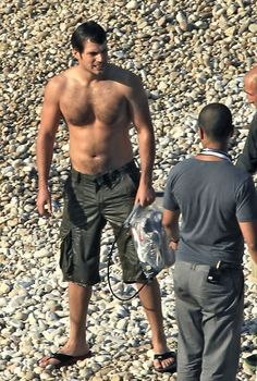 "Henry Cavill filming ""The Cold Light of Day"""