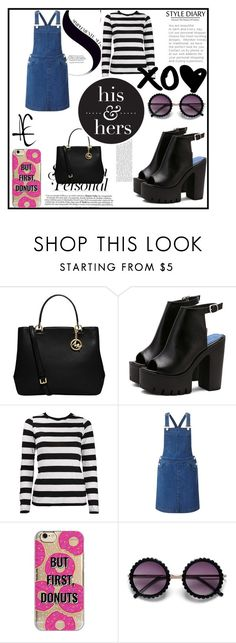 """""""Casual outfit"""" by abbybo on Polyvore featuring MICHAEL Michael Kors, Miss Selfridge and Agent 18"""