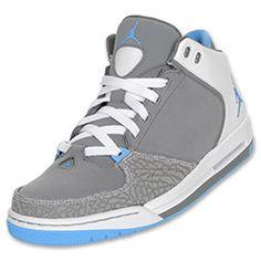 Jordan As You Go Womens Basketball Shoes   FinishLine.com   Black/Metallic Silver/White