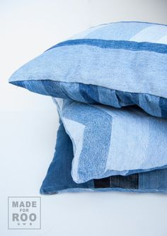 Stanford Pillowcase-Denim Pillow Cover-Decorative by MadeForRoo